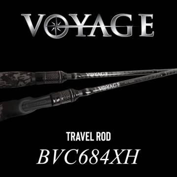 Rod Bone BVC684XH Cast Travel 4pc 6ft8inch PE1.5-3