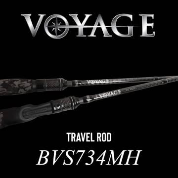 Rod Bone BVS734MH Spin Travel 4pc Fast 7ft3in PE1-2.5