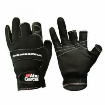 Apparel AbuGarcia Jig Glove Black Sz XL 15