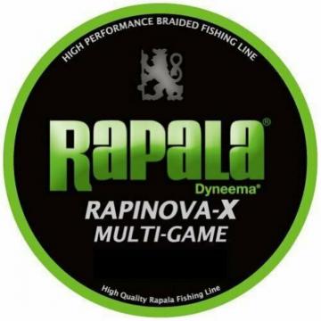 Braided Line Rapala RapinovaX MG 150m 22.2lb PE1.2